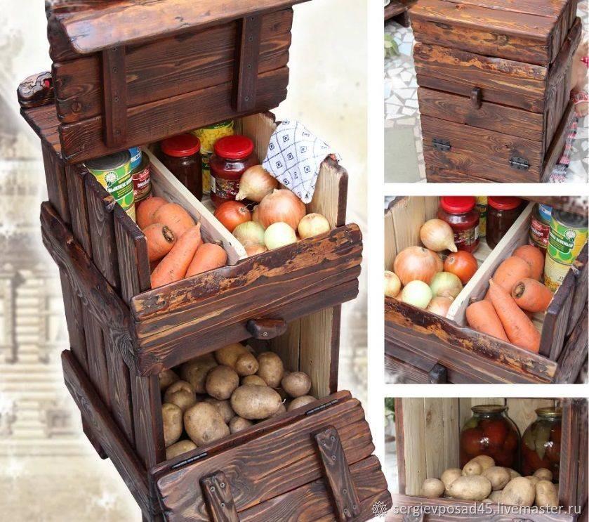 Подробная инструкция: как сделать ящик для хранения картофеля на балконе