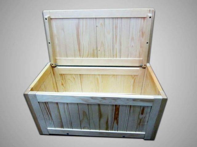 Как хранить картофель в деревянных ящиках и в каком месте
