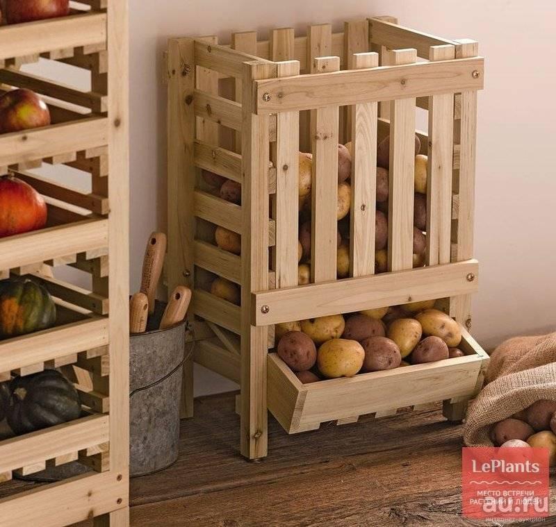 Ящик для хранения картофеля своими руками