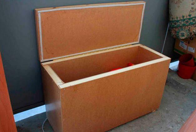 Ящик для картофеля своими руками. ящик для хранения картофеля на балконе и в подвале своими руками