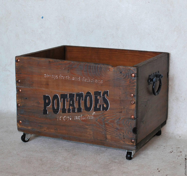 Как сделать ящик для хранения картофеля на балконе зимой: своими руками