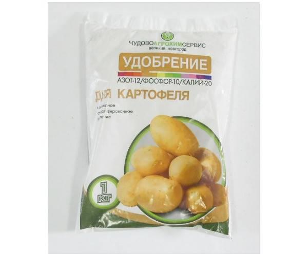 Удобрение для картофеля при посадке в лунку: минеральные, органические и комплексные